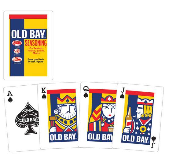Old Bay Playing Cards