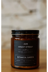 228 Grant Street Candle Co. Botanical Garden- 9oz Amber Jar Candle
