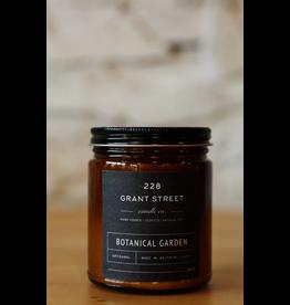 228 Grant Street Candle Co. Botanical Garden- 9oz Amber Jar