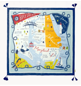 Bay Dreams Square Scarf