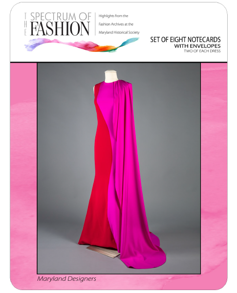 Set of 8 Cards - Fashion Archives, Md Designers
