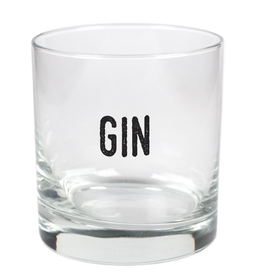 Gin- 11oz Stylized Rocks Glass