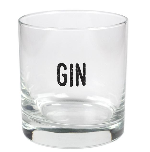 Gin- 11oz Stylized Rocks Glass