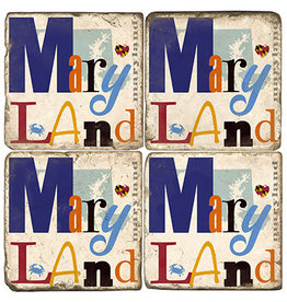 Maryland Collage Coaster