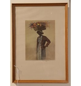 Charleston Flower Seller Prints Framed