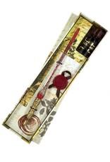 Crimson Tidings Dip Pen Set