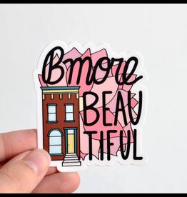 Row House 14 Bmore Beautiful Vinyl Sticker