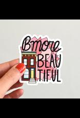 Row House 14 Bmore Beautiful Fridge Magnet