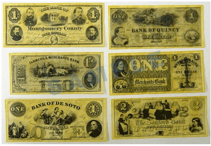 Historic Document - Union States Currency