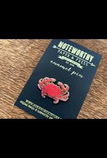 Crab Enamel Pin