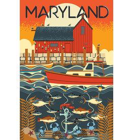 Maryland Geometric 1000 Pc Puzzle