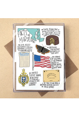 Allport Editions Maryland Facts Notecards, Boxed