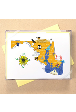 Allport Editions Hello Maryland Notecards, Boxed