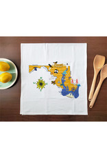 Allport Editions Hello Maryland Tea Towel
