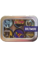 Baltimore Theme Magnet- 6 pack