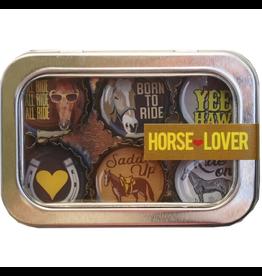Horse Lover Magnet- 6 pack