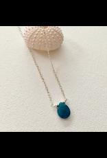 Apatite Teardrop Necklace