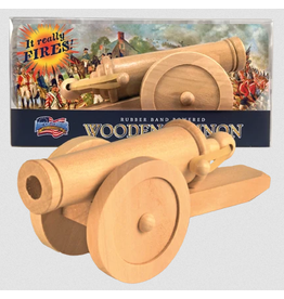 American Revolution Wood Cannon