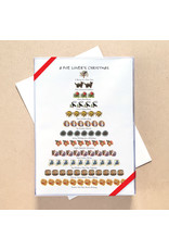 Allport Editions Poe Lover's 12-Days of Christmas Set of 12 Card