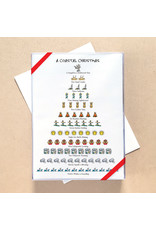 Allport Editions Coastal 12-Days of Christmas set of 12 Cards