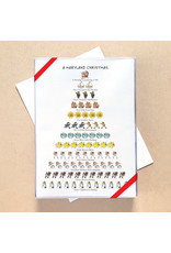 Allport Editions Maryland 12-Days of Christmas set of 12 Cards