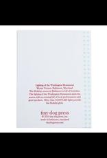 Tiny Dog Press Lighting Washington Monument Card