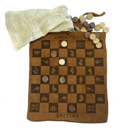 Madison Bay Company Leather Colonial Checkers