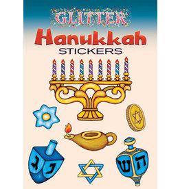 Glitter Hanukkah Stickers