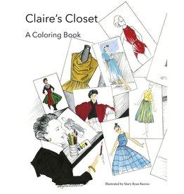 Claire's Closet: A Coloring Book