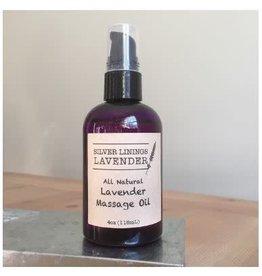 Silver Linings Lavender Lavender Massage Oil