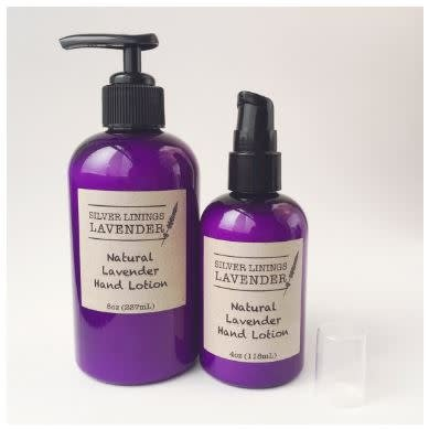 Silver Linings Lavender Lavender Hand Lotion