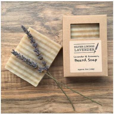 Silver Linings Lavender Lavender Rosemary Soap Bar