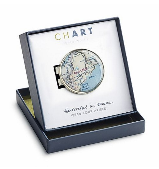 ChART Metalworks Cartographer Money Clip