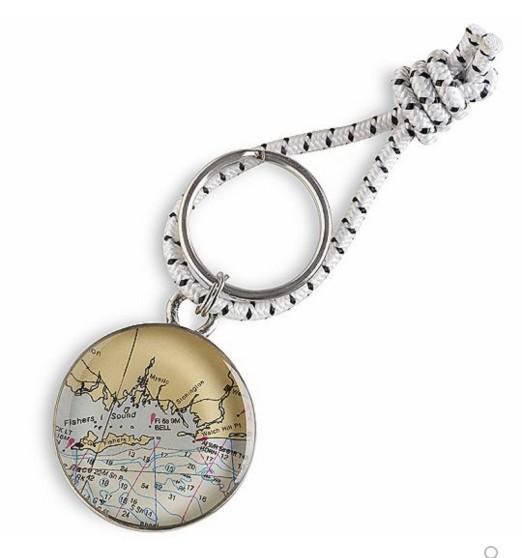 ChART Metalworks Peltro Regatta Key Ring