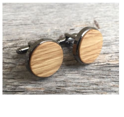 Autumn Summer Cufflinks, Whiskey Barrel