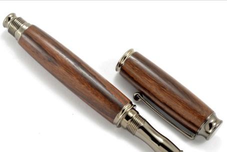 Autumn Summer Executive Rollerball Pen, Ebony Wood