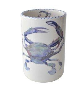 Abbiamo Tutto Blue Crab Utensil Holder
