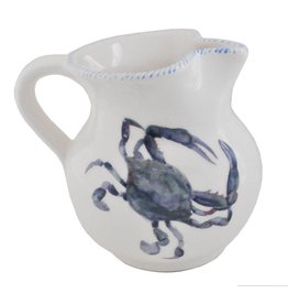 Abbiamo Tutto Blue Crab Pitcher, Small