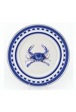 Golden Rabbit Blue Crab Sandwich Plate