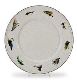 Golden Rabbit Fishing Fly Sandwich Plate