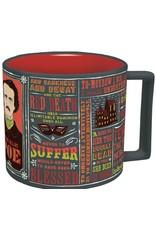 Unemployed Philosophers Guild Edgar Allan Poe Literary Mug