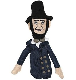Unemployed Philosophers Guild Magnetic Personalities Finger Puppet - Abraham Lincoln