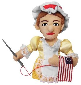 Unemployed Philosophers Guild Magnetic Personalities Puppet - Betsy Ross