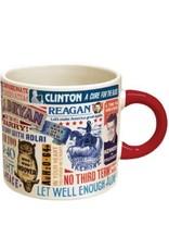 Unemployed Philosophers Guild Presidential Campaign Slogans Mug