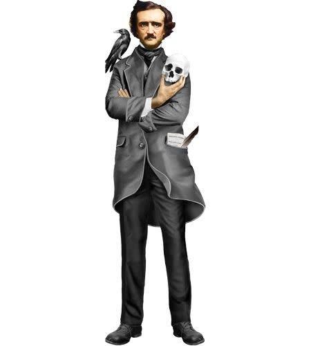Unemployed Philosophers Guild Edgar Allan Poe Quotable Notable Single Note Card