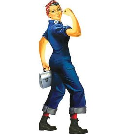 Unemployed Philosophers Guild Quotable Notables - Rosie the Riveter