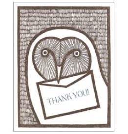 Single Card - Thank You Owl