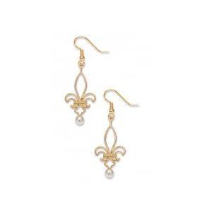 David Howell & Co. Fleur De Lis Earrings