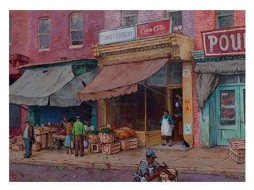 Jacob Glushakow Postcards, Set of 18