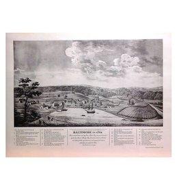 Print - Baltimore, 1752